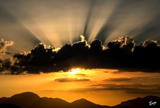 Romantico tramonto - Matelica (1078 clic)