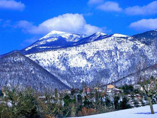 Colli di Matelica - prima neve (4467 clic)