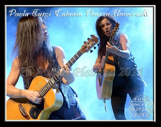 Scatenata Paola Turci - Catania (2473 clic)