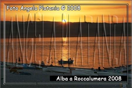 I colori dell'alba - Roccalumera (3707 clic)