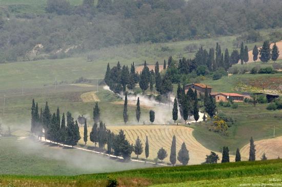 Toscana, Siena, Val d'Orcia - Monticchiello (1775 clic)