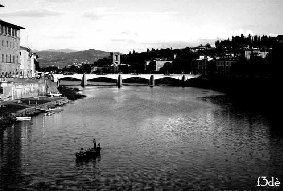 barchetta sull'Arno - Firenze (2712 clic)