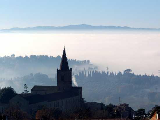 PERUGIA Panorama dai Giardini Carducci (4783 clic)