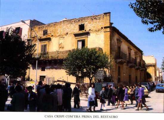 Casa di Francesco Crispi - Ribera (4555 clic)