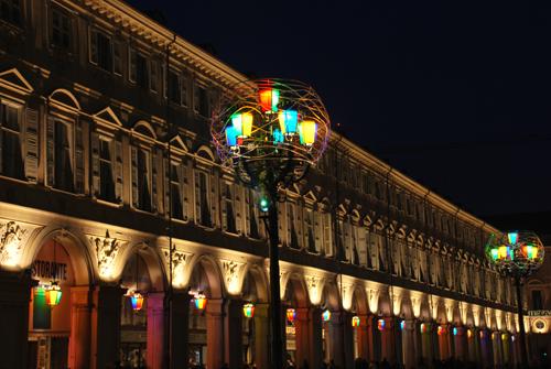 luci d'artista in piazza san Carlo - Torino (3249 clic)
