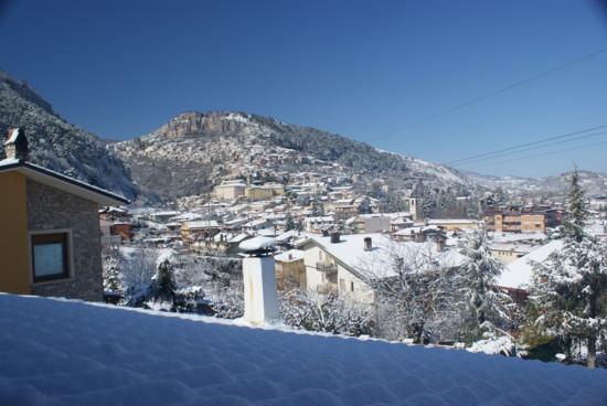 panorama invernale - Tagliacozzo (2966 clic)