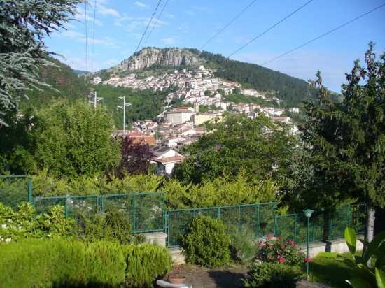 PANORAMA DA COLLEMAGGIO - Tagliacozzo (2475 clic)