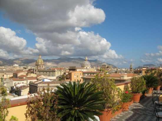 Tetti a Palermo (2990 clic)