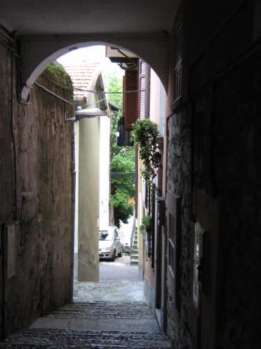 La via San Giorgio - Laglio (2549 clic)