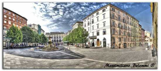 P.za Roma - panoramica - Ancona (2776 clic)