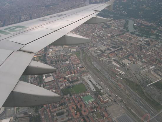 Città di Torino vista dall'aereo  (5596 clic)