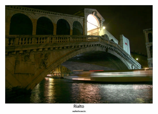 Ponte di Rialto - Venezia (2083 clic)