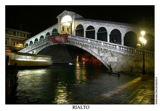 Ponte di Rialto - Venezia (3902 clic)