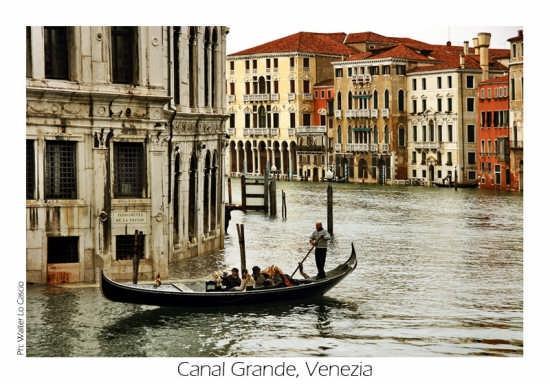 Curva sul Canal Grande - Venezia (2924 clic)