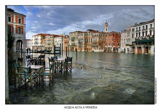 Acqua alta a Venezia (5579 clic)