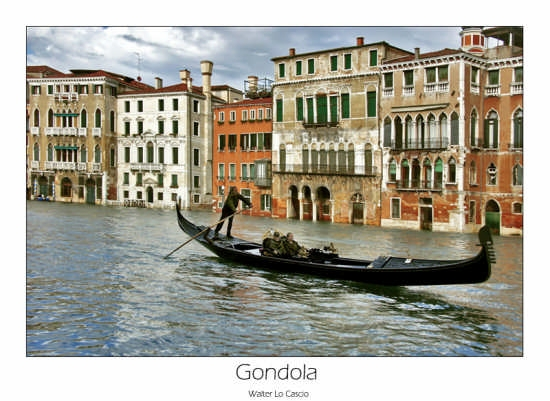 Gondola a Venezia (2143 clic)