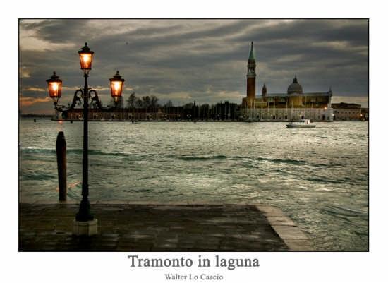 Tramonto in Laguna - Venezia (3430 clic)