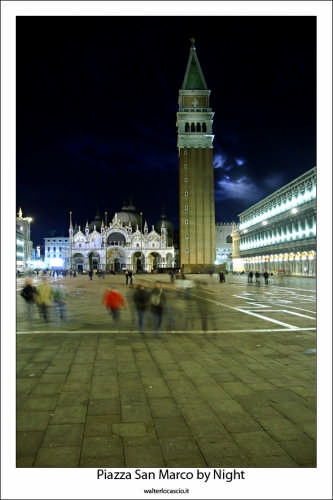 Piazza San Marco By Night - Venezia (2024 clic)
