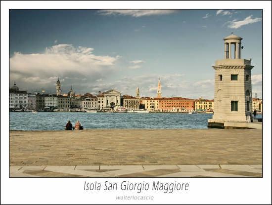 Isola di San Giorgio Maggiore - Venezia (1840 clic)