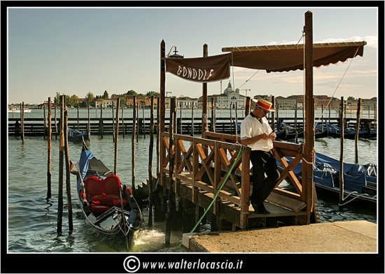 Gondoliere - Venezia (2754 clic)