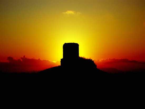 La Torre sul Tramonto  - Corleone (5182 clic)