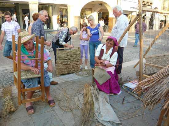 ESTE(Padova) Vecchi mestieri in Piazza Maggiore  (2065 clic)