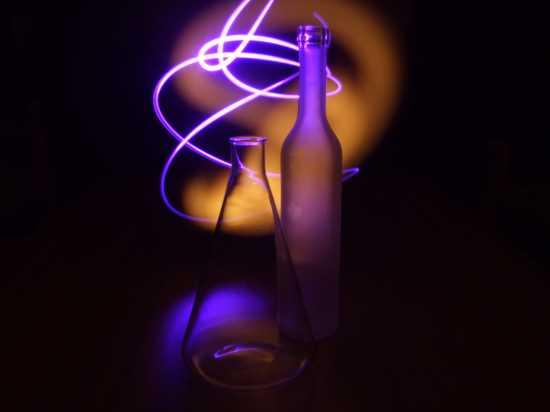 luci e ombre - Altopascio (1987 clic)