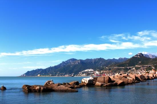 Veduta dal Lungomare - Salerno (6217 clic)