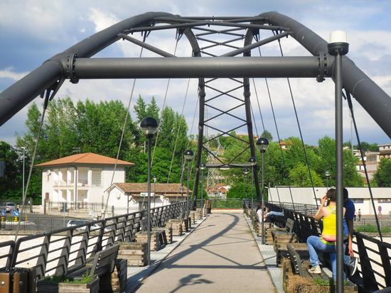 Ponte sul fiume Sacco - Ceccano (1106 clic)