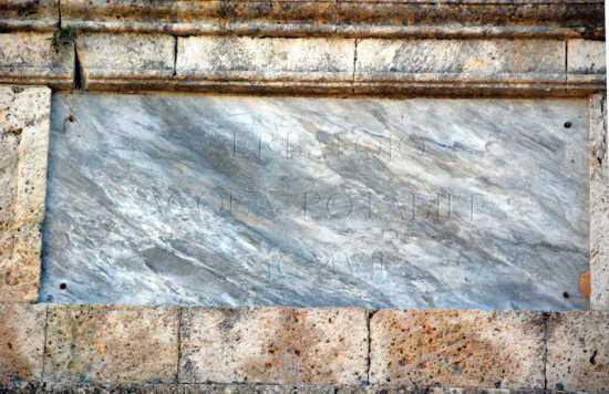 Particolare del serbatoio acqua potabile - Ribera (3263 clic)