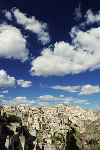 Il cielo sopra i Sassi - Matera (5202 clic)