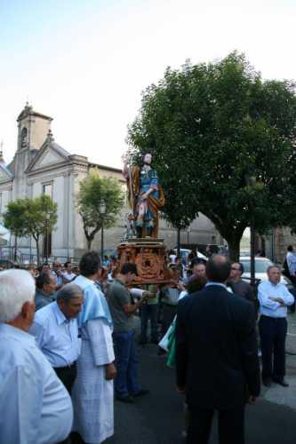 Festa di S. Rocco - Processione per le vie del paese - Simbario (2318 clic)
