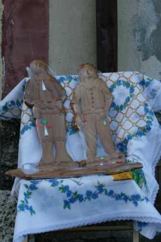 Festa di S. Rocco - Li Vuti (Gli ex-voto) - Simbario (2422 clic)