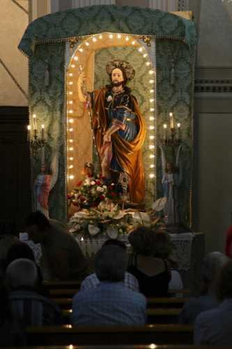 Festa di S. Rocco - In chiesa - Simbario (3568 clic)