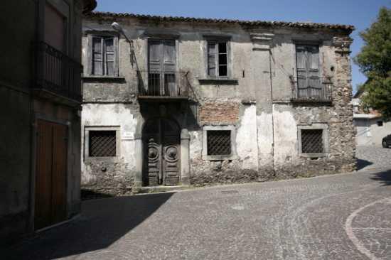 Vecchio Municipio - Prospetto - Simbario (2635 clic)