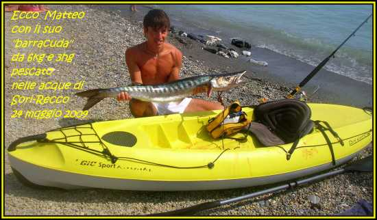 Pesca fotunata per Matteo - Sori (3274 clic)