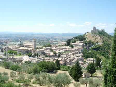 La Cittadella di Assisi (3037 clic)