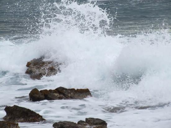 mare in quasi in burrasca - Livorno (6667 clic)