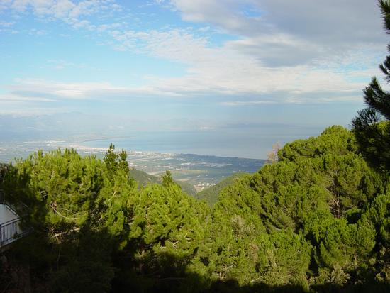 Rossano -veduta dall'hotel Bisanzio (2142 clic)