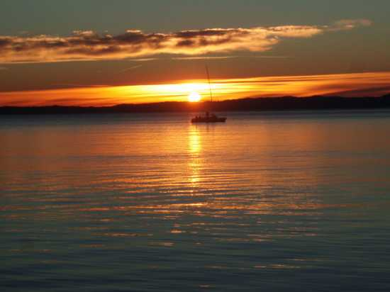 tramonto sul Garda (2335 clic)