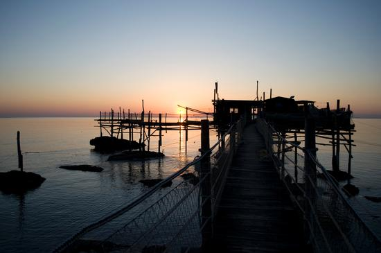 Trabocco all'alba - Fossacesia (4869 clic)