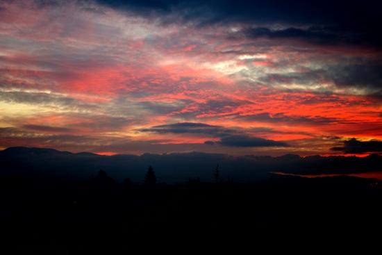 Tramonto di fuoco - Ortona (1365 clic)
