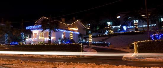 Casa addobbata di luci x Natale - Ortona (3662 clic)