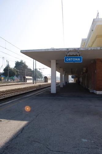 Stazione di Orona - Ortona (1860 clic)