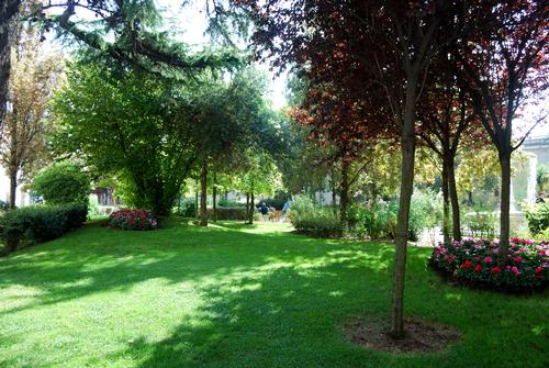 Una parte del giardino comunale - ORTONA - inserita il 30-Nov-09