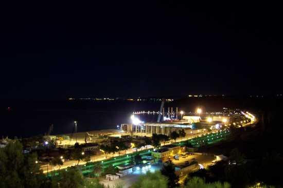 Veduta dalla passeggiata orientale - Ortona (2908 clic)