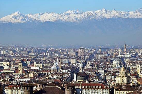 Torino dalla Mole - TORINO - inserita il 29-Apr-13