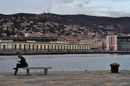 il dandy e la bitta - Trieste (1189 clic)