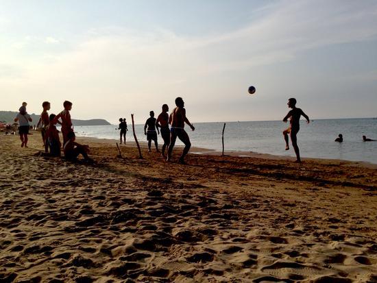 Beach soccer tennis - Vasto (1082 clic)