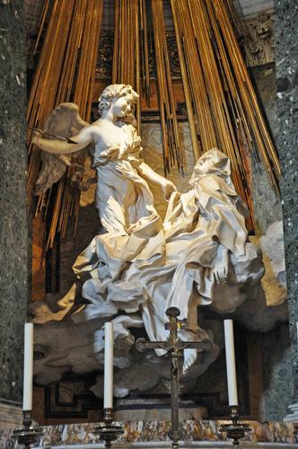 Bernini, Estasi di Santa Teresa d'Avila - Roma (2524 clic)